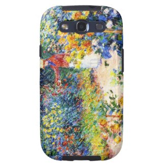 In the Garden Claude Monet woman painting Samsung Galaxy S3 Case