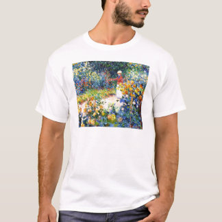 In the Garden Claude Monet woman painting T-Shirt