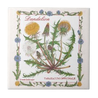 In the Garden ~ Dandelion Tile