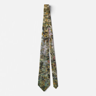 In the Garden, Giverny by Frederick Frieseke Neck Tie