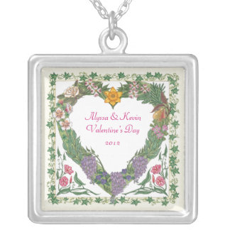 In the Garden ~ Love Wreath Necklace