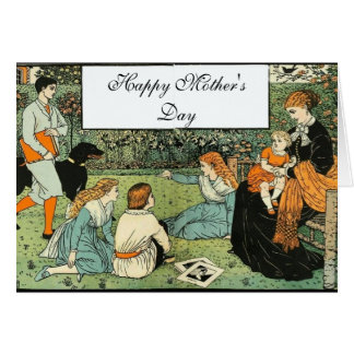In the Garden Mother's Day Card