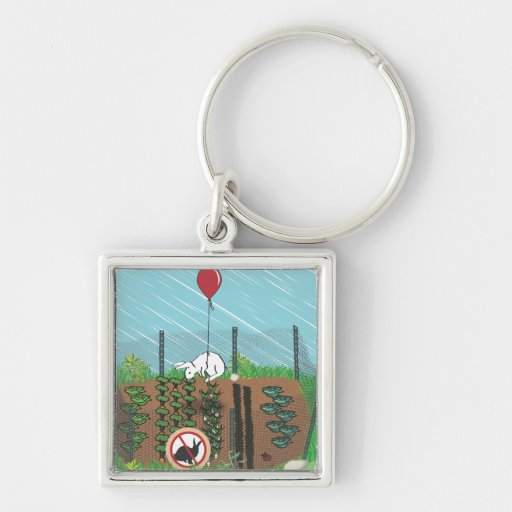 In The Garden of Earthly Delights Keychain