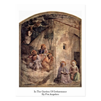 In The Garden Of Gethsemane By Fra Angelico Postcard