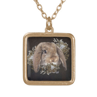 In the Garden of Whispers Gold Plated Necklace