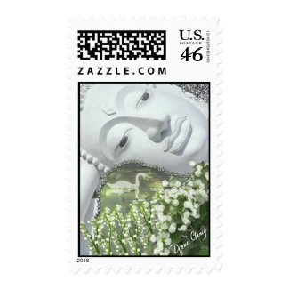 In the Garden Postage stamp