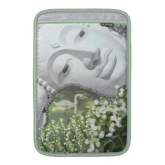 In the Garden - Quan Yin & Flowers MacBook Air Sleeve