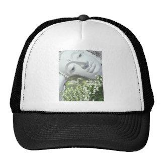 In the Garden - Quan Yin & Flowers Mesh Hat