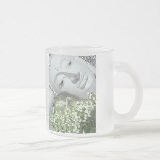 In the Garden - Quan Yin & Flowers Mugs