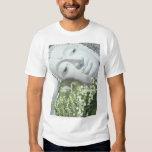 In the Garden - Quan Yin & Flowers Tee Shirt