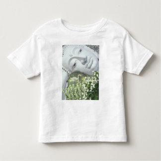 In the Garden - Quan Yin & Flowers Toddler T-shirt