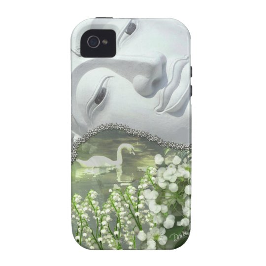 In the Garden - Quan Yin & Flowers Vibe iPhone 4 Cover