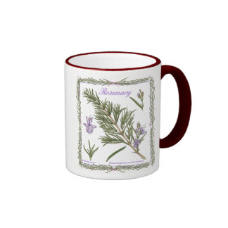In the Garden ~ Rosemary Mug