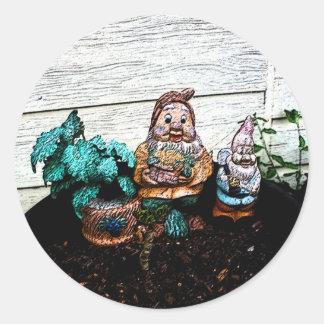 In The Garden Sticker