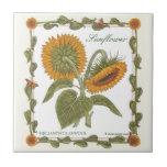 In the Garden ~ Sunflower Tile