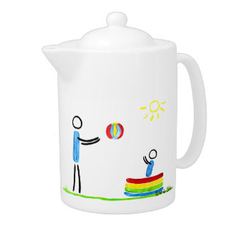 in the Garden Teapot