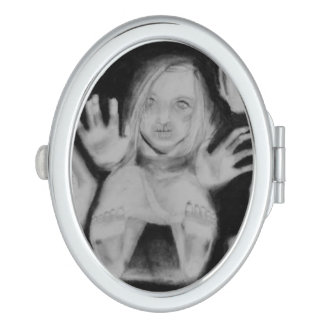 In the Glass Above Compact Mirror
