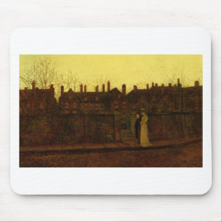 In the Golden Gloaming by John Atkinson Grimshaw Mouse Pad