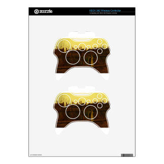 In the Golden Gloaming by John Atkinson Grimshaw Xbox 360 Controller Skin