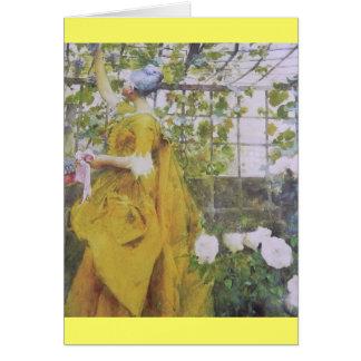 In the Grape Arbor Card