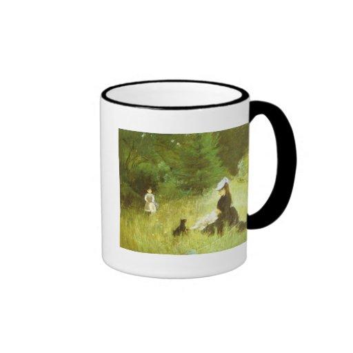 In The Grass Ringer Coffee Mug