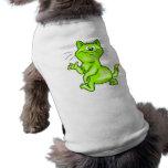 In The Green Cartoon Cat Dog Shirt