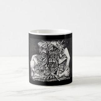 In the Grip, by Brian Benson Magic Mug
