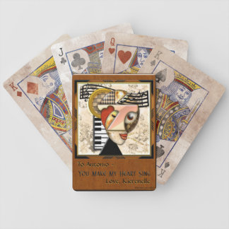 In The Groove (Personalized Playing Cards)