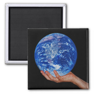 In the hand of God 2 Inch Square Magnet