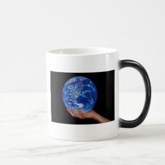 In the hand of God Magic Mug