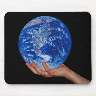 In the hand of God Mouse Pad