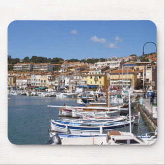 In the harbour in Cassis village. Fishing and Mousepads