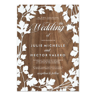 In the Herb Garden Wedding Invitation