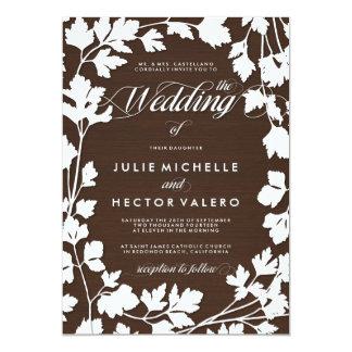 In the Herb Garden Wedding Invitation