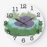 In the Hippo Pond Wallclock
