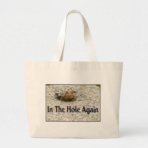 In The Hole Again Canvas Bag