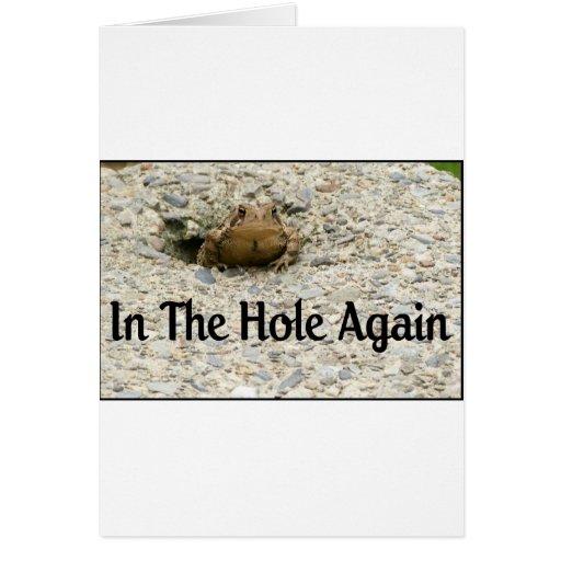 In The Hole Again Card