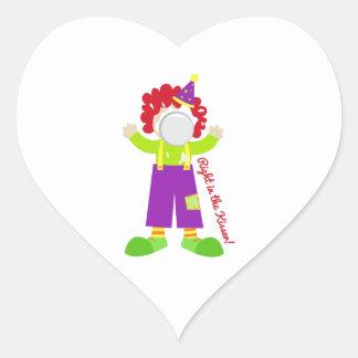In The Kisser Heart Sticker