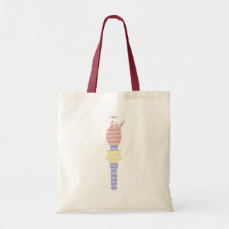 In The Land Of Plenty Liberty's Torch Tote