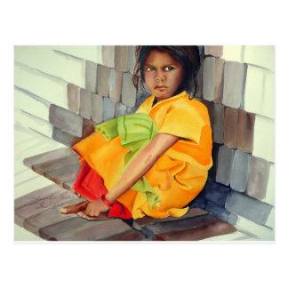 in the lap of bricks postcards