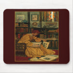 In the Library Mouse Pad