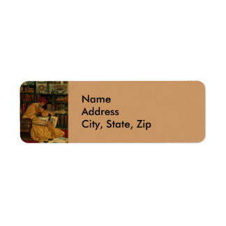 In the Library Return Address Label