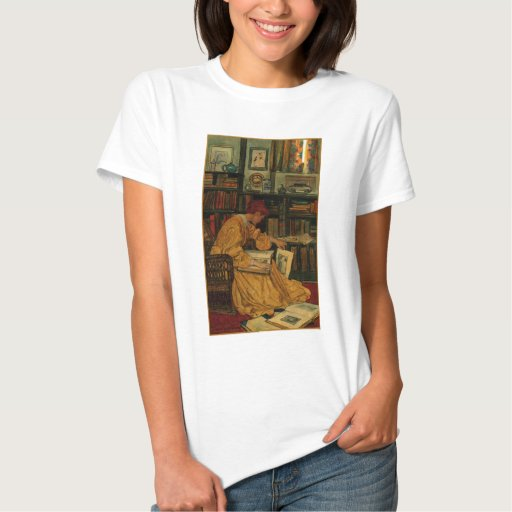 In the Library Tshirt