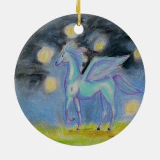 In The Light Ceramic Ornament