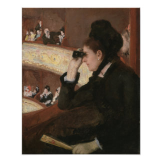 In the Loge by Mary Cassatt Art Photo