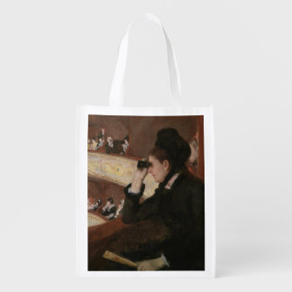 In the Loge by Mary Cassatt Market Totes