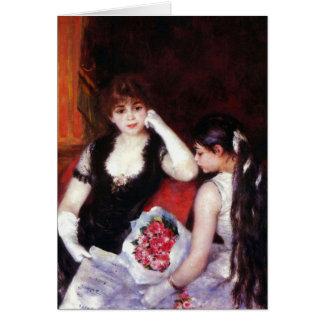 In the Loge by Pierre Renoir Card