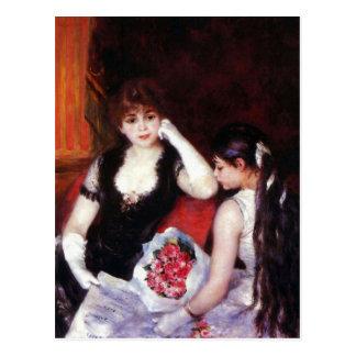 In the Loge by Pierre Renoir Postcard