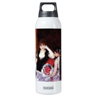 In the Loge by Pierre Renoir 16 Oz Insulated SIGG Thermos Water Bottle