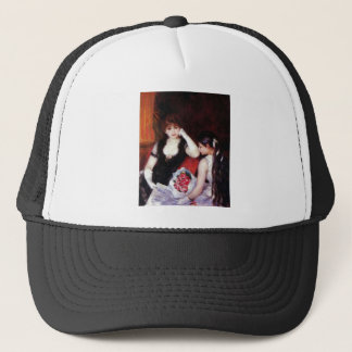 In the Loge by Pierre Renoir Trucker Hat